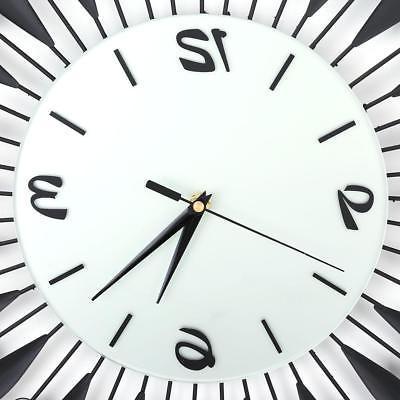 Elegant Luxury Large Wall Clocks Metal Room Home Decor