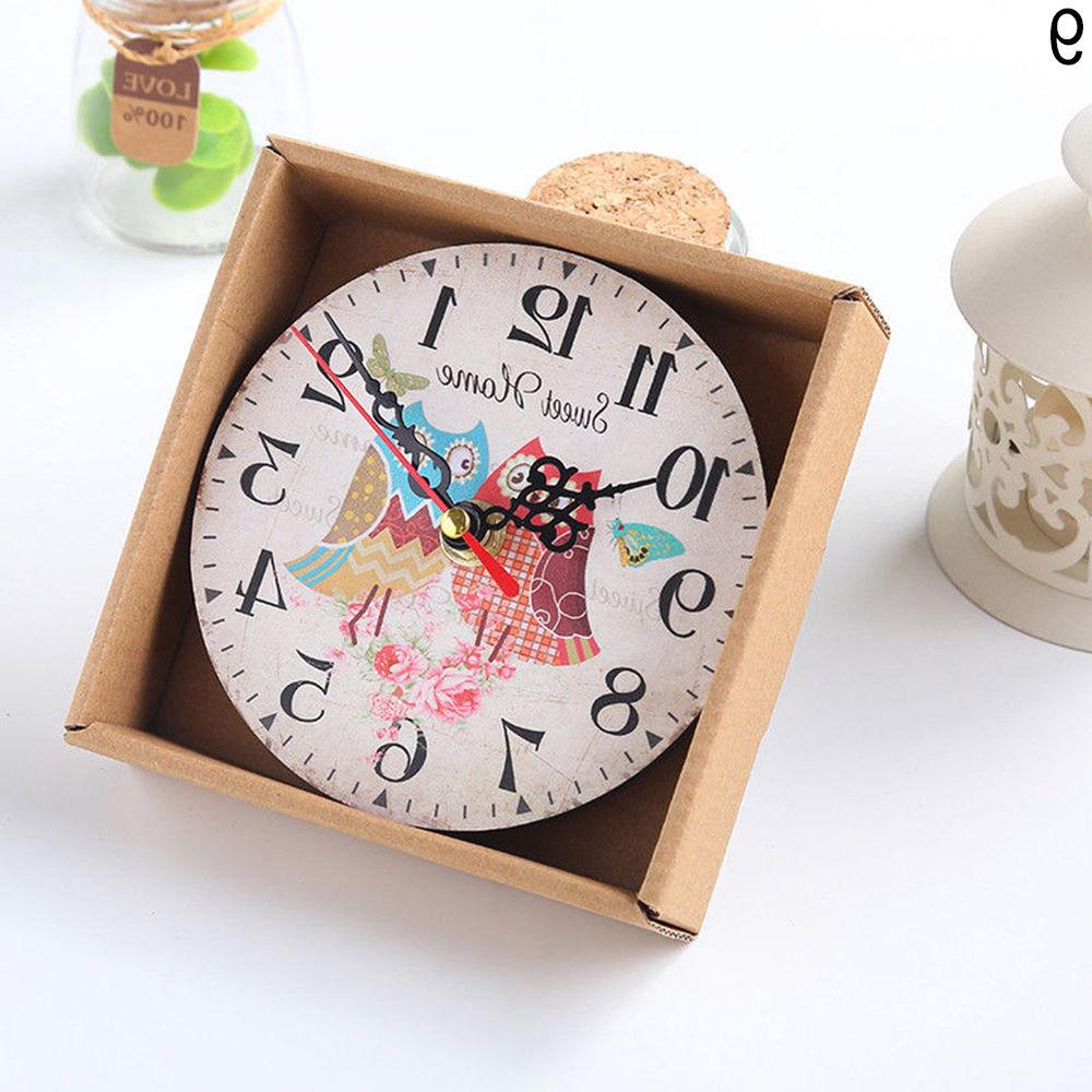 EP_ Antique Decor Wall Decoration Clock Exo
