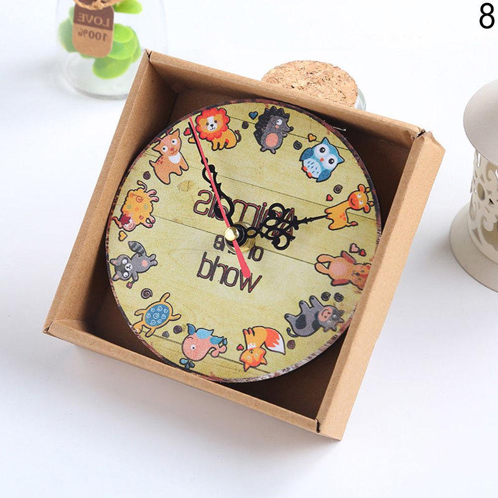Decor Wall Clock Shabby Chic Kitchen Exo