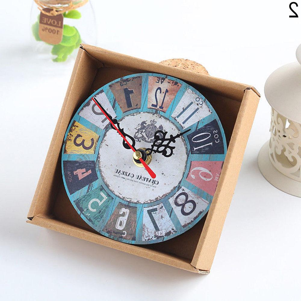 EP_ Room Decor Clocks Clock Shabby Exo