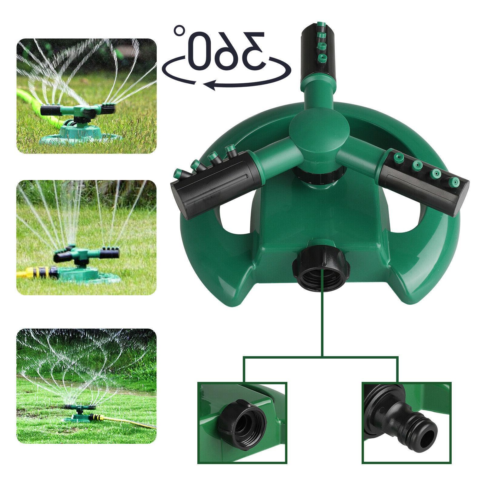 garden sprinkler lawn watering rotating system water