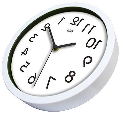hito Non-ticking Wall Clock,