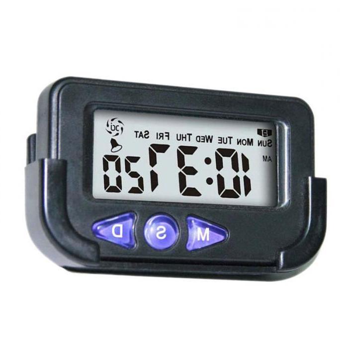 Hot Portable Digital Electronic <font><b>Travel</b></font> Clock Automotive Electronic Sale