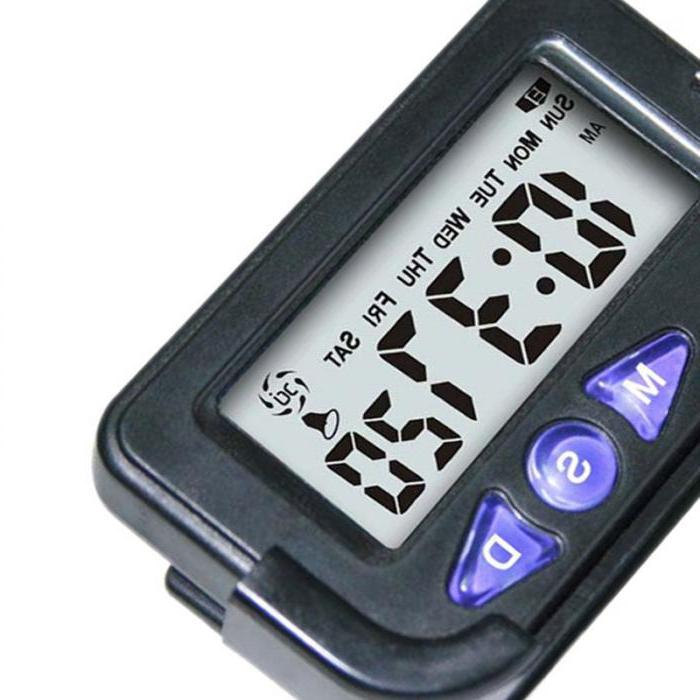 Hot Portable Digital Electronic <font><b>Travel</b></font> Clock Electronic Stopwatch Sale