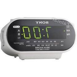 Sony ICF-C318 Dream Machine™ AM/FM Clock Radio in White