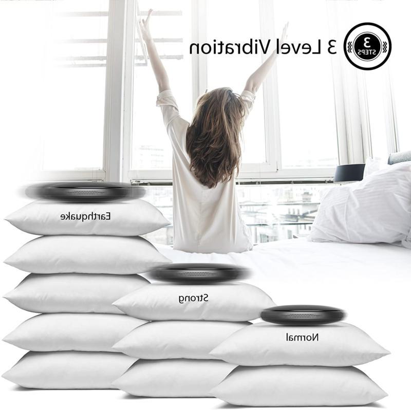 iLuv Travel Bed Shaker Alarm Clock