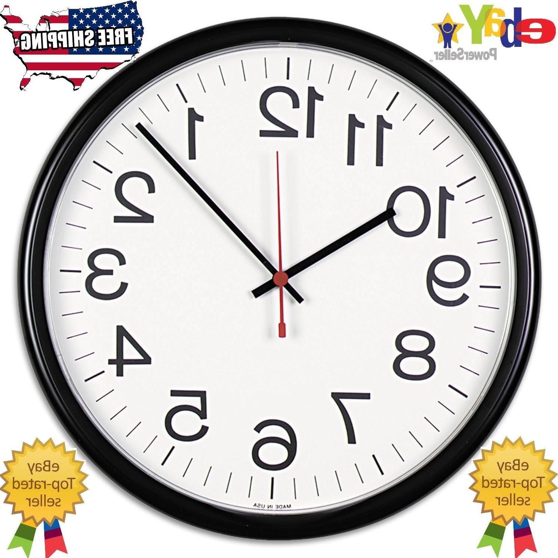indoor outdoor clock 13 1 2 inch