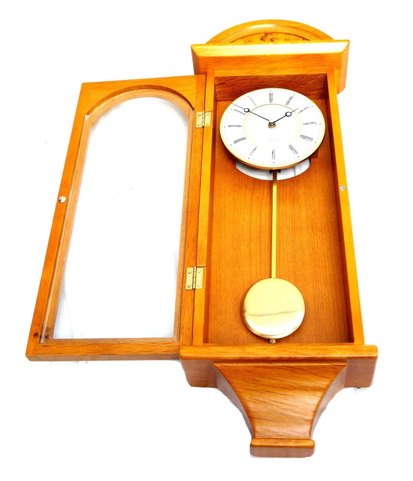J&D Best Pendulum Clock Silent retro classic Wood