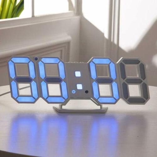Large LED Clock USB 12/24 Dispaly Alarm Snooze