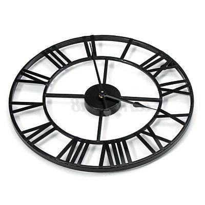 Large Numeral Wall Metal Outdoor Vintage Home Decor