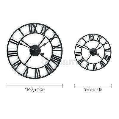 Large Numeral Wall Outdoor Vintage