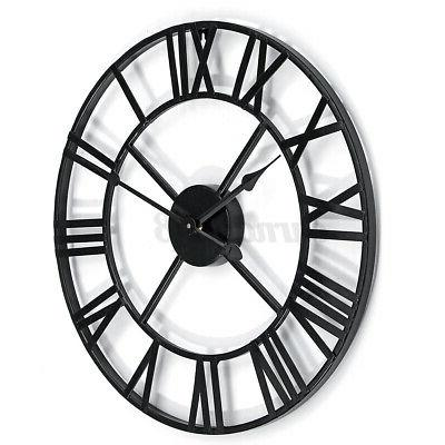 Large Numeral Wall Metal Outdoor