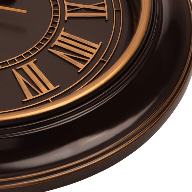 "Bernhard Products Clock 18"" Quartz Silent"
