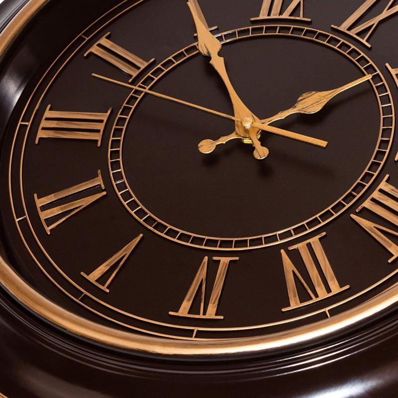 Bernhard Wall Clock Silent Ticking,