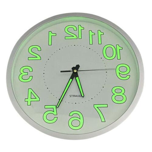 Luminous Quartz Bedroom Office Night Clocks