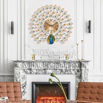 "Luxury Large Clock 25"" Room Home"