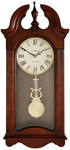 Malia Wall Clock in Cherry Bordeaux