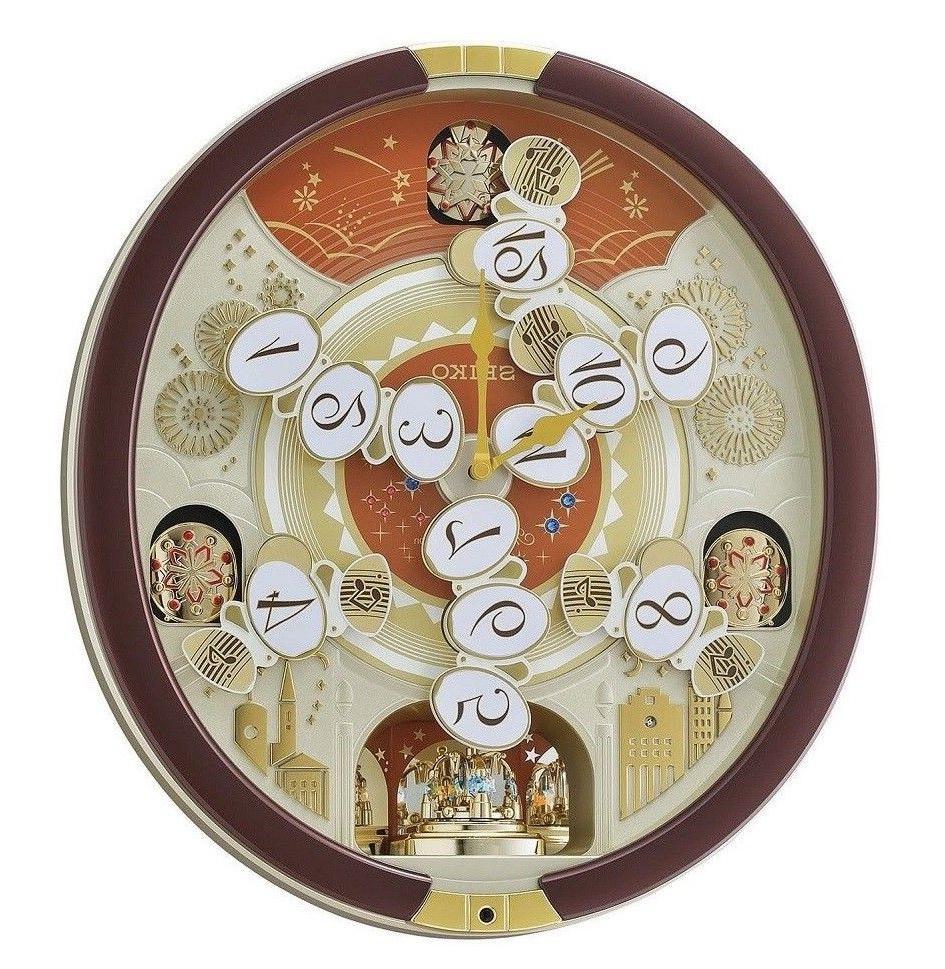 Seiko Clock QXM574BRH Special New!