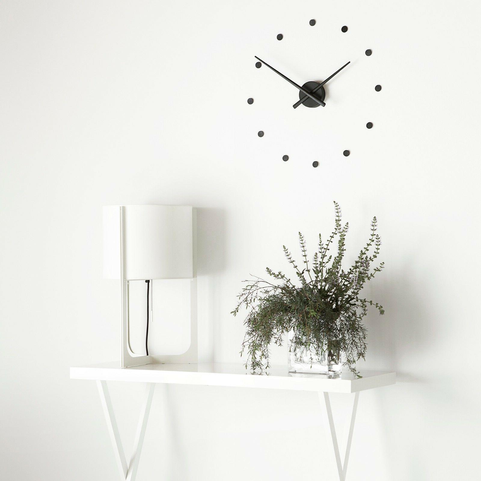 minimalist modern mini wall clock made in