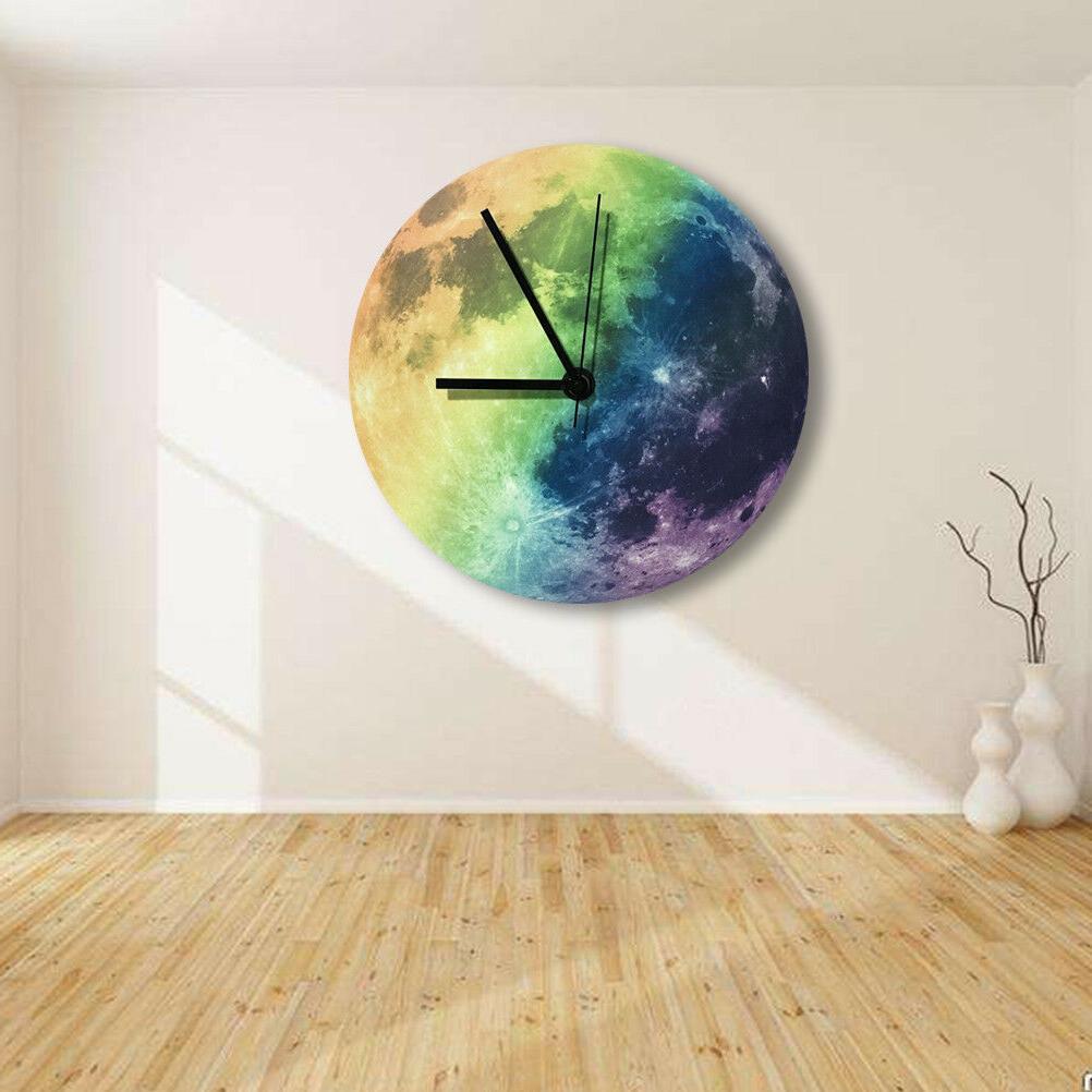 Modern Wall Clock Moon The Office