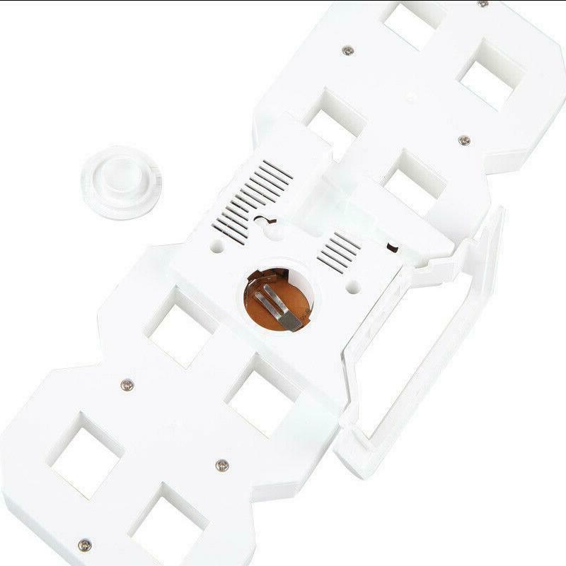 Modern Digital 3D LED Wall Clock Alarm Clock Display
