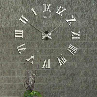 Modern Wall Clock Kit Surface Room