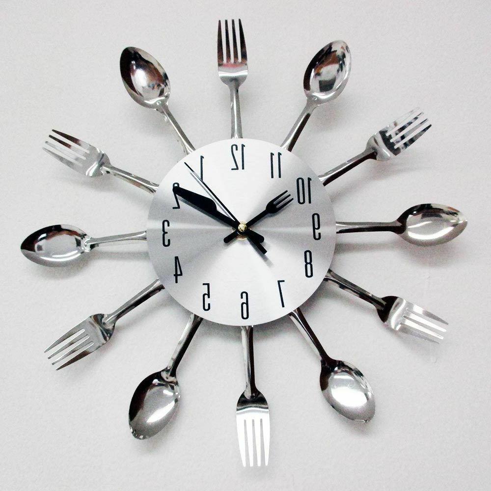 modern silver cutlery kitchen utensil