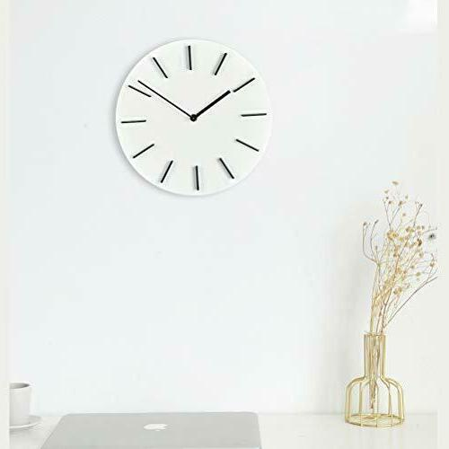 MOTINI Modern Wall Round Read Battery Operated