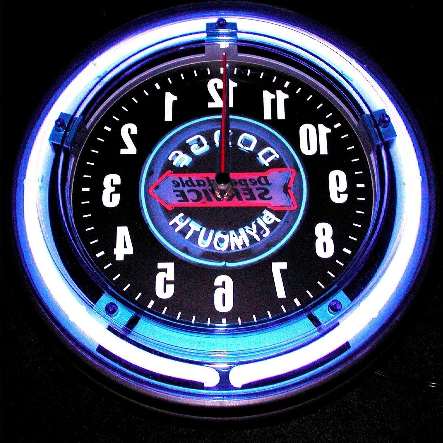 MOPAR, DODGE DODGE Blue Neon