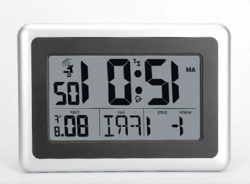 Desk Clock Battery Indoor Time