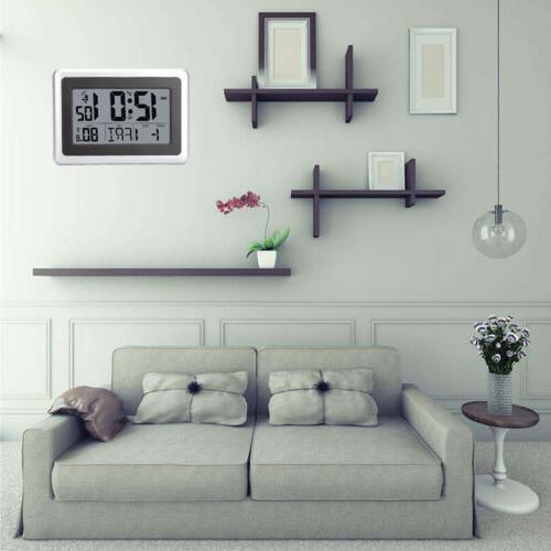 multi language large digital wall desk clock