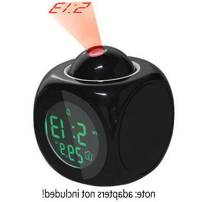 Talking alarm clock vibrator