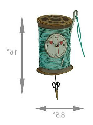 Allen Designs Needle Thread Pendulum Wall