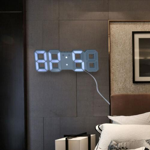 Modern 3DLED Digital Three-dimensional Wall Display Hung