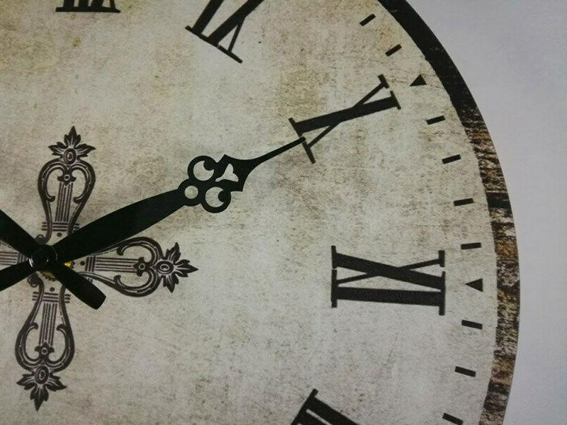 """New Wooden Wall Clock Home Vintage 15"""" Large US"""