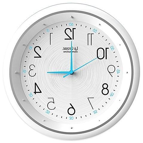 night vision analog wall clock