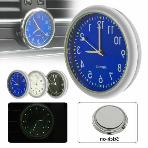 Pocket Mini Car Clock Quartz Analog US