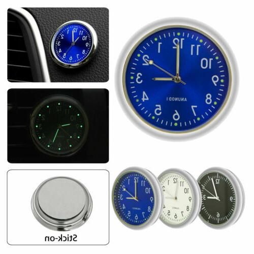 Pocket Mini Watch Stick-On For Car Bike Motorcycle