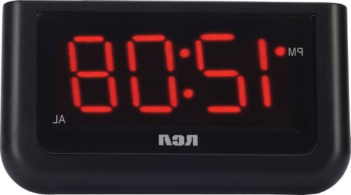 RCA Digital Alarm Clock RCA Digital Alarm Clock with Large 1