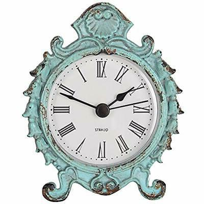 shabby chic desk and shelf clocks baroque