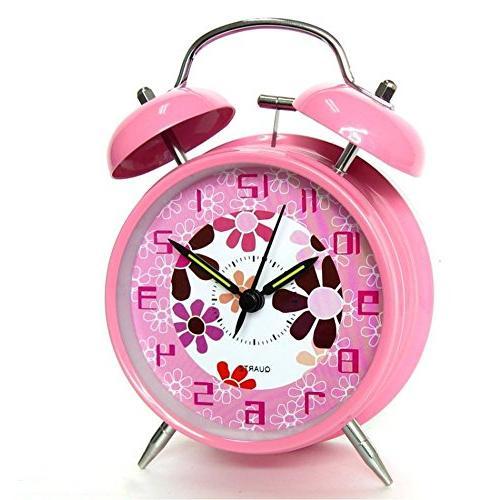 silent non ticking alarm clock