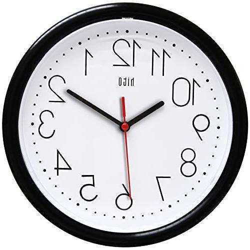 silent wall clock non ticking