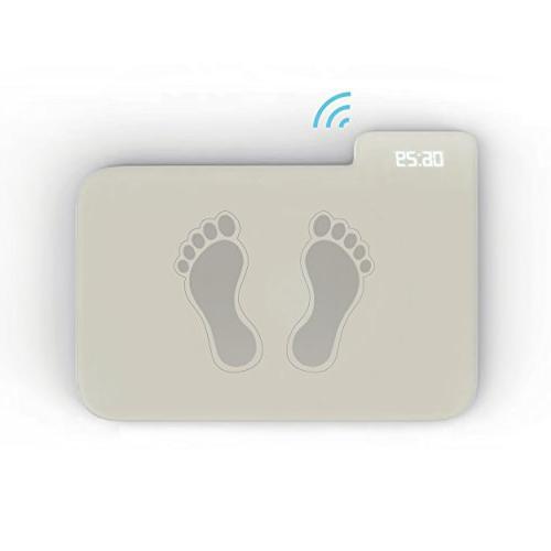 IDEAcone Smart Alarm Clock Small Mat Alarm Clock Wakes You Up Immediately Pressure Sensitive Alarm Clock