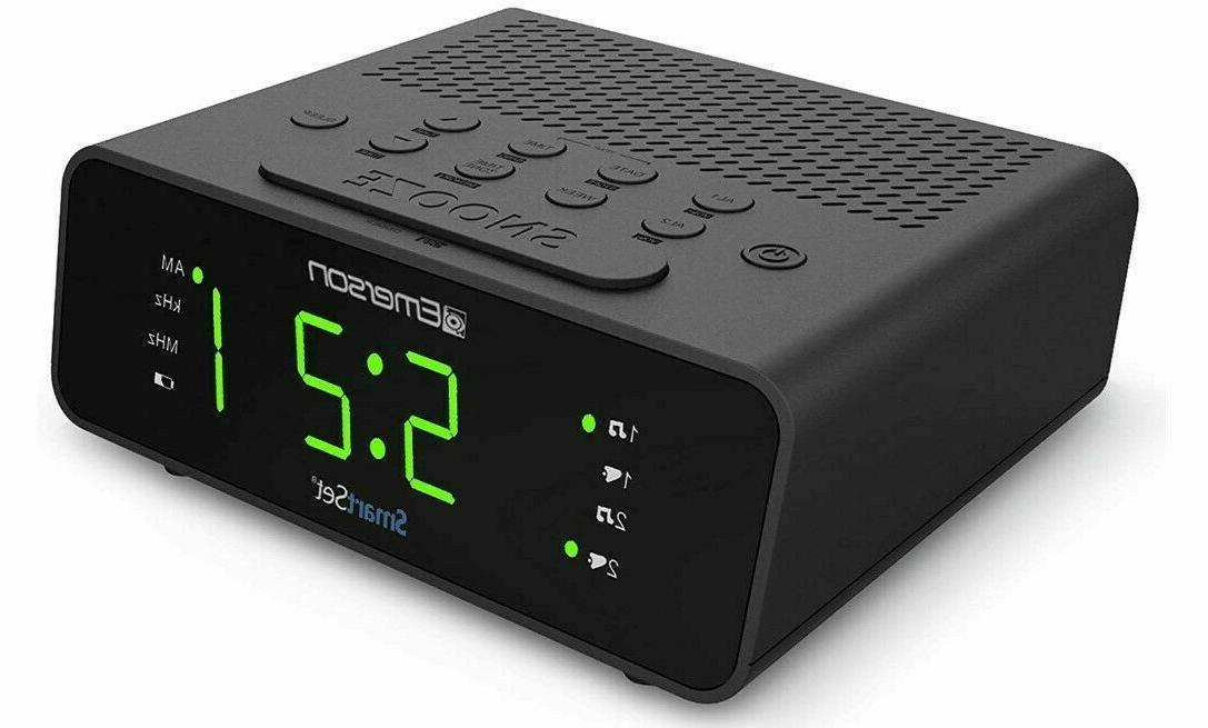 Emerson Alarm Clock Radio New
