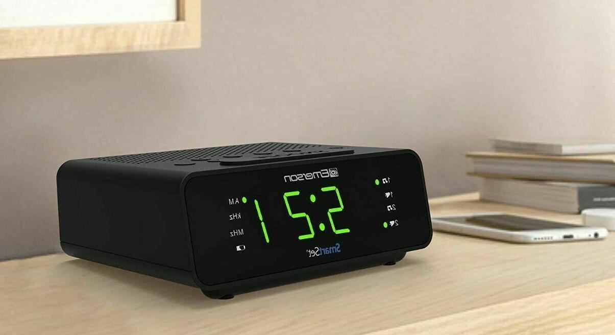 Emerson Alarm Clock with Radio Timer New