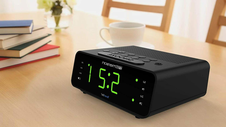 Emerson SmartSet Alarm Clock Large