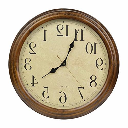 solid wood silent non ticking
