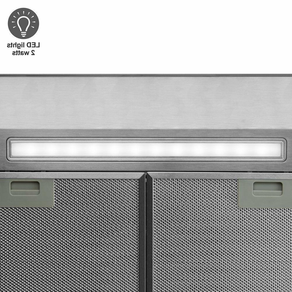 Livetech Stainless Under Kitchen Hood RS-BTS030-3E