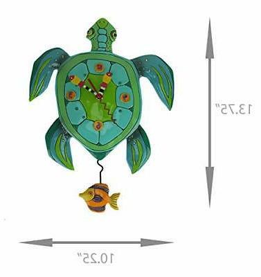 """Allen Designs """"Sup Whimsical Pendulum Clock"""