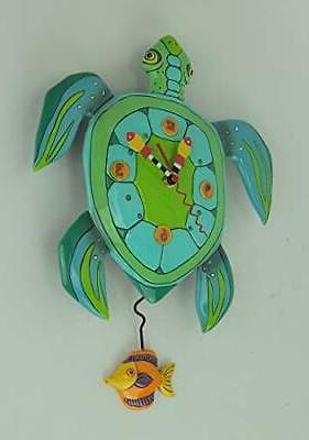 Whimsical Turtle Clock